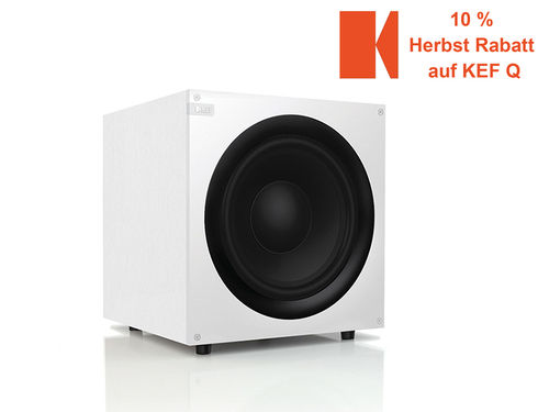 KEF Q400b  Subwoofer in weiss