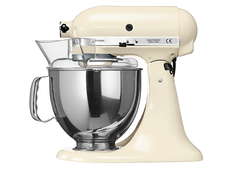 kitchenaid artisan k chenmaschine 5ksm150ps eac in creme thomas electronic online shop. Black Bedroom Furniture Sets. Home Design Ideas