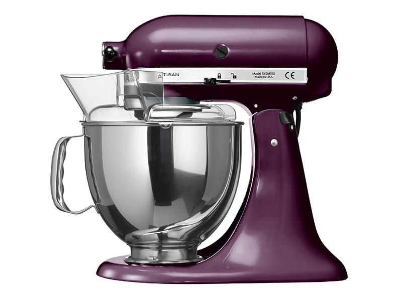 kitchenaid artisan k chenmaschine 5ksm150ps eby in holunder beere thomas electronic online shop. Black Bedroom Furniture Sets. Home Design Ideas