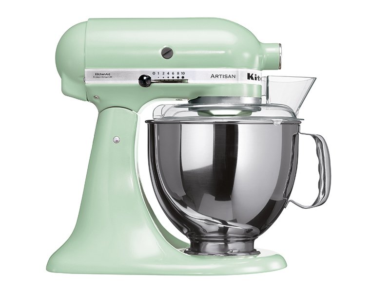 kitchenaid artisan k chenmaschine 5ksm150psept in pistachio thomas electronic online shop. Black Bedroom Furniture Sets. Home Design Ideas