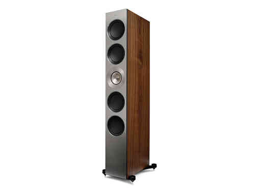 KEF The Reference 5 Standlautsprecher in satin american walnut