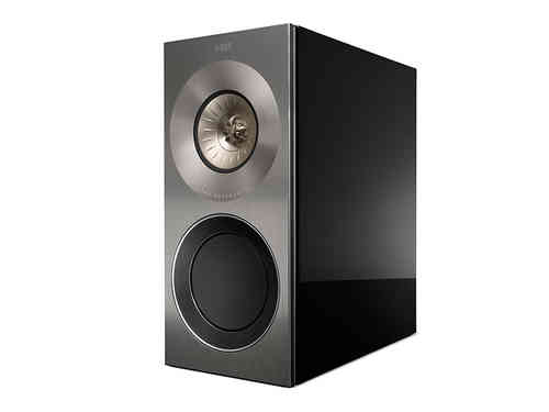 KEF The Reference 1 Kompakt Monitorlautsprecher in piano black