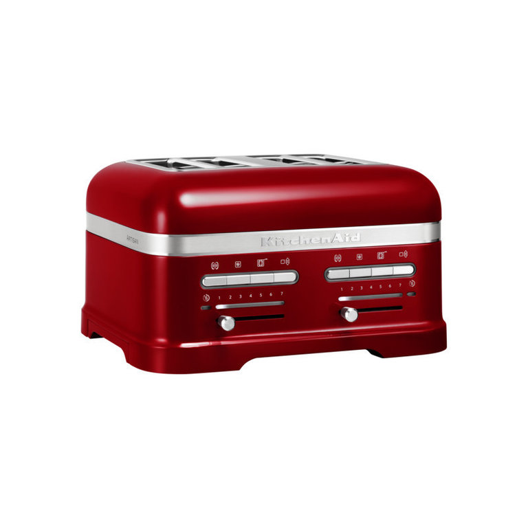 kitchenaid 4 scheiben toaster 5kmt4205eca in liebesapfel rot thomas electronic online shop. Black Bedroom Furniture Sets. Home Design Ideas