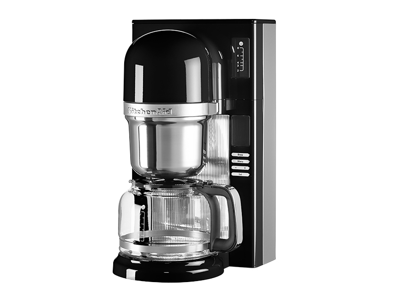 kitchenaid kaffeemaschine mit filter in onyx black 5kcm0802eob thomas electronic online shop. Black Bedroom Furniture Sets. Home Design Ideas