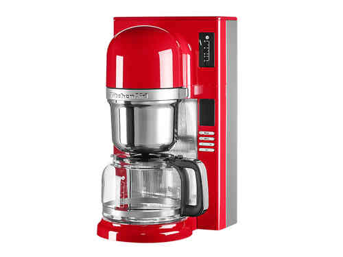 KitchenAid Kaffeemaschine mit Filter in Empire Red - 5KCM0802EER