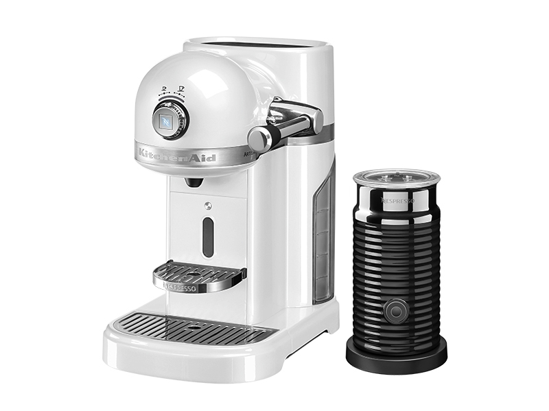 kitchenaid artisan nespresso und aeroccino 3 in frosted pearl thomas electronic online shop. Black Bedroom Furniture Sets. Home Design Ideas
