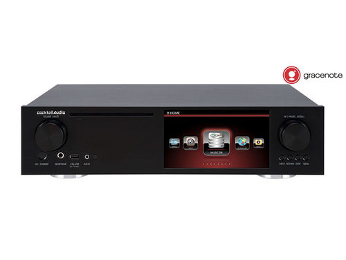 Cocktail Audio X35 schwarz, All-in-one-Hifi-System