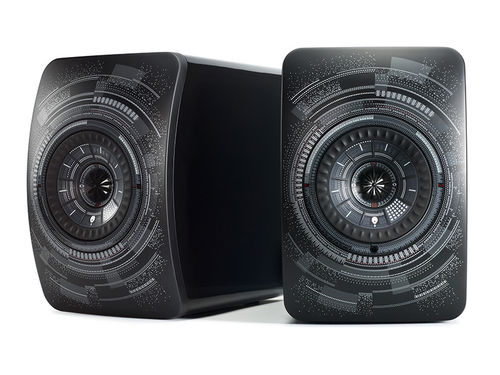 KEF LS50 Wireless 'Nocturne' by Marcel Wanders - Aktiv-Monitor & Netzwerk Player