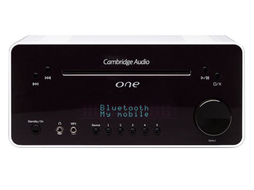 Cambridge Audio One weiss - CD-Receiver