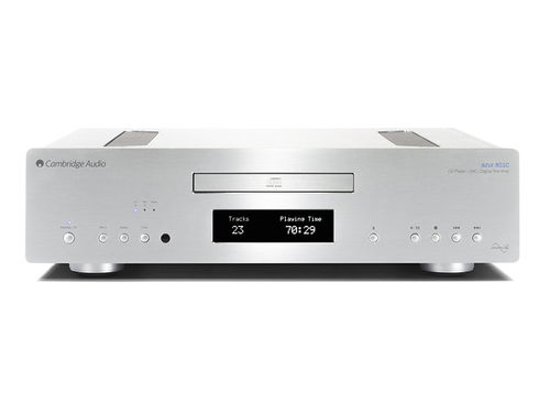 Cambridge Audio Azur 851C silber & AudioQuest Big Sur Cinchkabel 1m - CD-Player & HighEnd Kabel