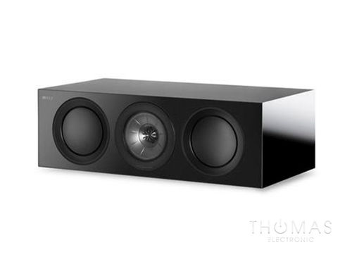 KEF R2c schwarz - Center-Speaker R-Serie 2