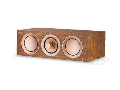 KEF R2c walnuss - Center-Speaker R-Serie 2