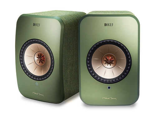 KEF LSX wireless, Aktivlautsprecher  in grün