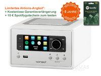 Sonoro RELAX weiss - Edition 5 Jahre Garantie - Audio-System & Netzwerk Player SO-8100-101-WH