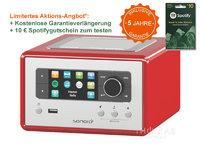 Sonoro RELAX rot - Audio-System &Netzwerk Player SO-8100-101-RE
