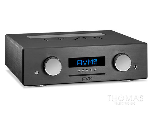 AVM OVATION CS 8.2 schwarz, mit Flightcase, All-in-one-Meisterstück