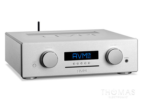 AVM OVATION CS 8.2 silber mit,Flightcase, All-in-one-Meisterstück