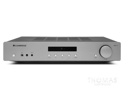 Cambridge Audio AXA35 luna grey - Stereo-Vollverstärker
