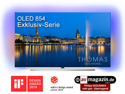 Philips 55OLED854 4K OLED TV