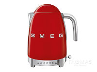 SMEG Wasserkocher mit variabler Temperatur KLF04RDEU in Rot