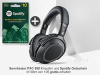 Sennheiser PXC 550-II Wireless in schwarz - INKL. SPOTIFY GUTSCHEIN 508337