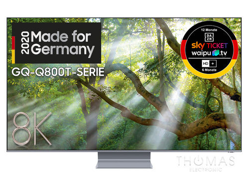 Samsung GQ75Q800T 8K QLED TV – 2020 - Made for Germany