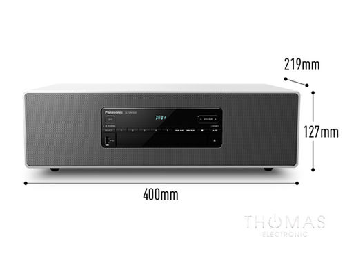 Panasonic SC-DM504EG-W weiß – All-In-One CD-Receiver