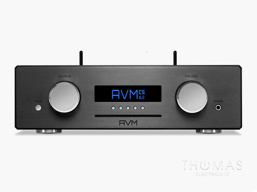 AVM OVATION CS 8.3 schwarz - All-in-one-Meisterstück