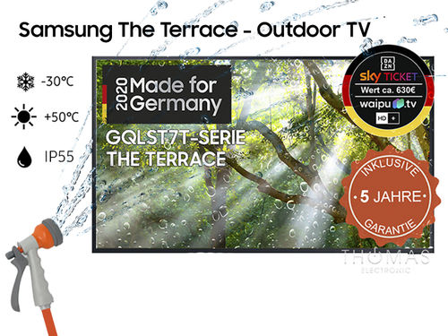 Samsung The Terrace GQ55LST7T TV - Garantie 5 Jahre