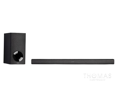 Denon DHT-S416 schwarz – 2.1 Heimkino Soundbar mit Google Chromecast Audiostreaming