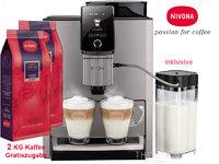 Nivona Kaffeevollautomat NICR1040 – Titan-Chrom + 2KG Kaffee Gratis