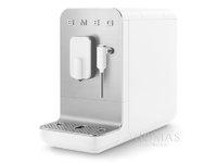 SMEG Kaffee-Vollautomat BCC02WHMEU weiß matt - Espressomaschine BCC02 WHMEU