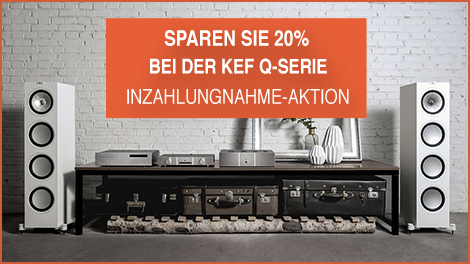 KEF Inzahlungname Aktion